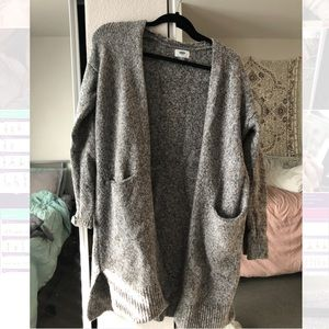 Old Navy Long Gray cardigan